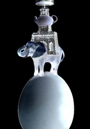 Anne Tilby Elephant on Egg