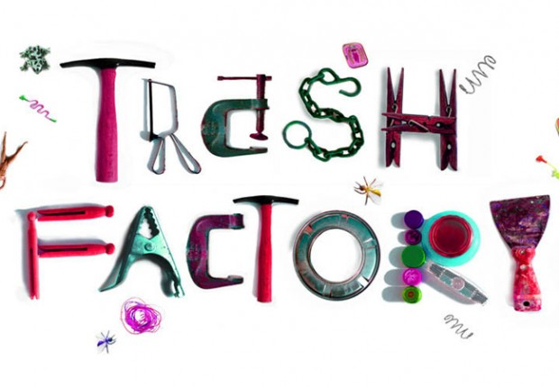 Trash factory logo