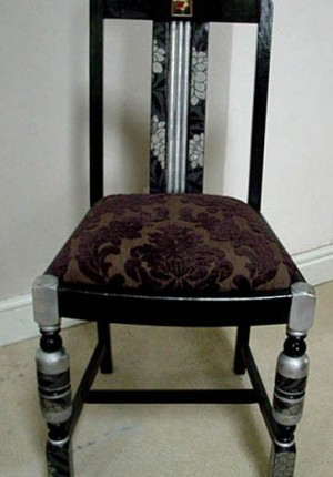 black madonna chair