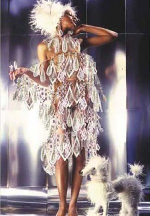 Anne Tilby chandelier dress