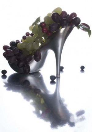 Anne Tilby grape shoe