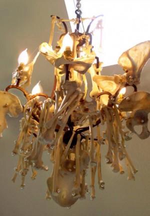tilby bones chandelier