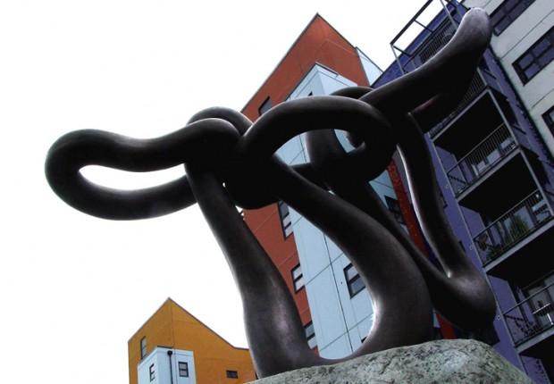 Anne tilby finished sculpture