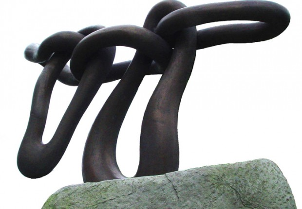 Anne Tilby sculpture on site