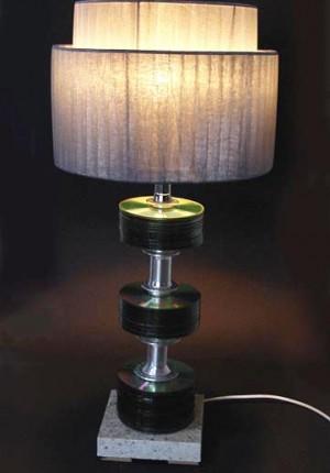 tilby trashfactory cd lamp